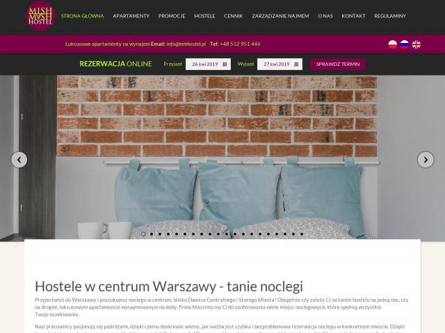 Apartments for rent Warsaw